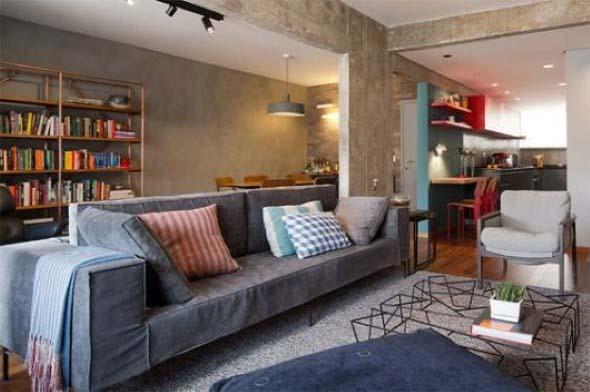 Salas de estar modernas e atuais 006