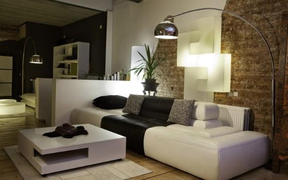 Salas de estar modernas e atuais 007