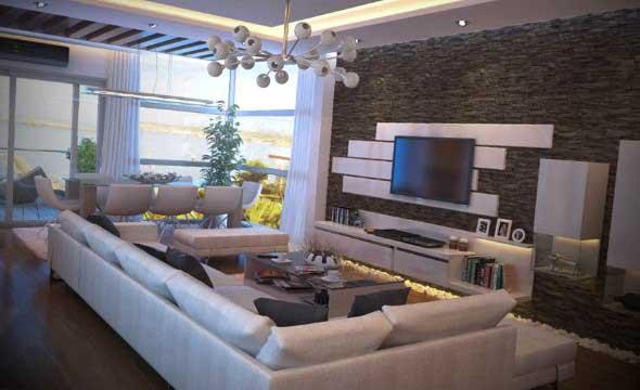 Salas de estar modernas e atuais 008
