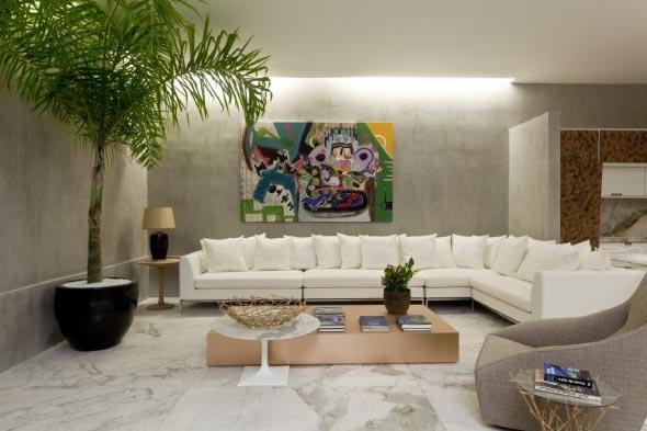 Salas de estar modernas e atuais 017