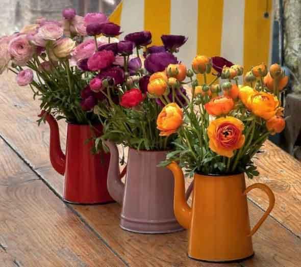 Vasinhos de flores e plantas para enfeitar a casa 001
