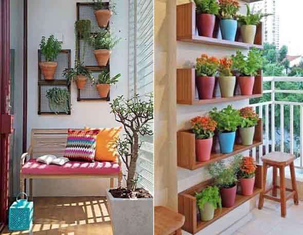 Vasinhos de flores e plantas para enfeitar a casa 016