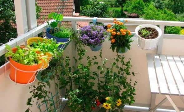 Vasinhos de flores e plantas para enfeitar a casa 017
