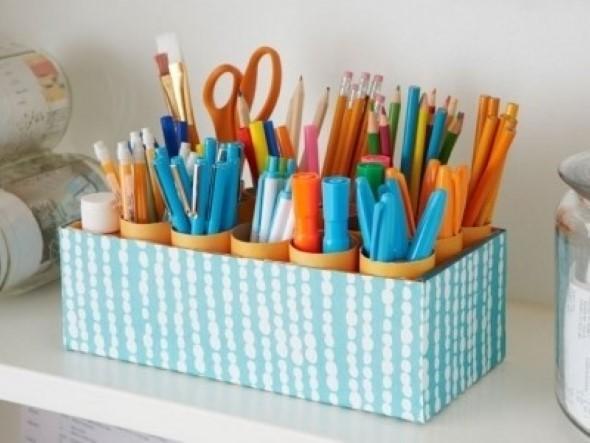 DIY - Caixas de papelão na decoração 008