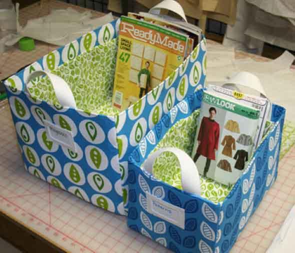 DIY - Caixas de papelão na decoração 013