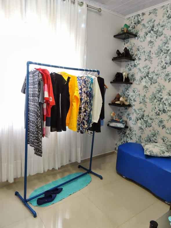DIY - Como montar uma arara de roupas 007