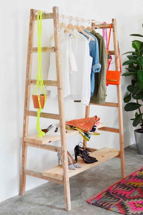DIY - Como montar uma arara de roupas 013