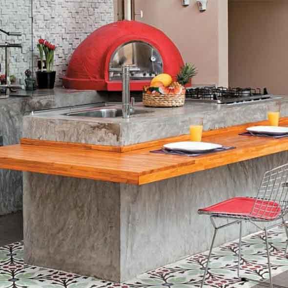 Decoração de cozinhas rústicas 002