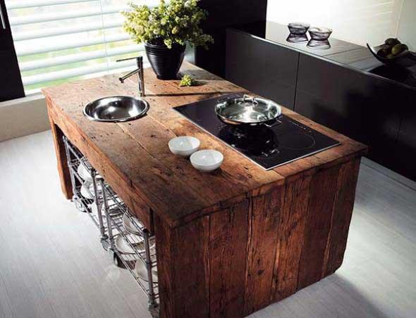 Decoração de cozinhas rústicas 009