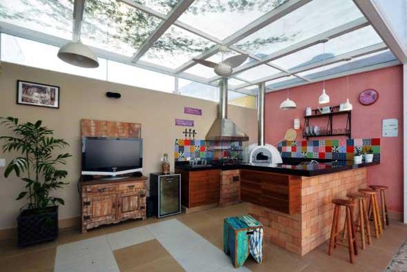Decoração de cozinhas rústicas 011