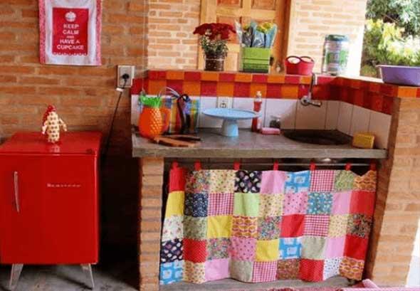 Decoração de cozinhas rústicas 021