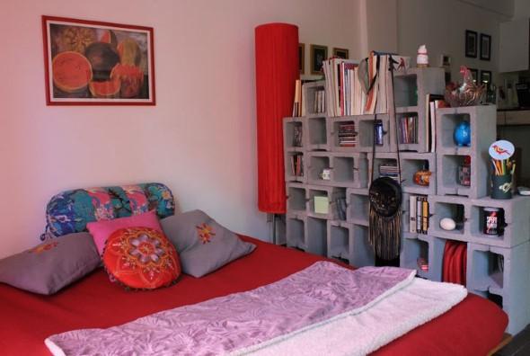 Ideias de decoração com blocos de concreto 008