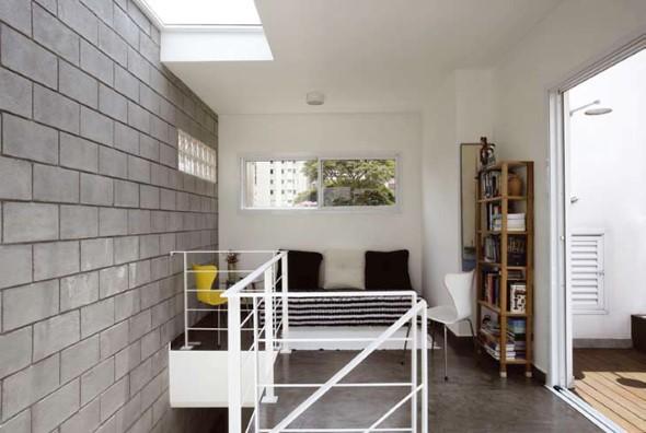 Ideias de decoração com blocos de concreto 010