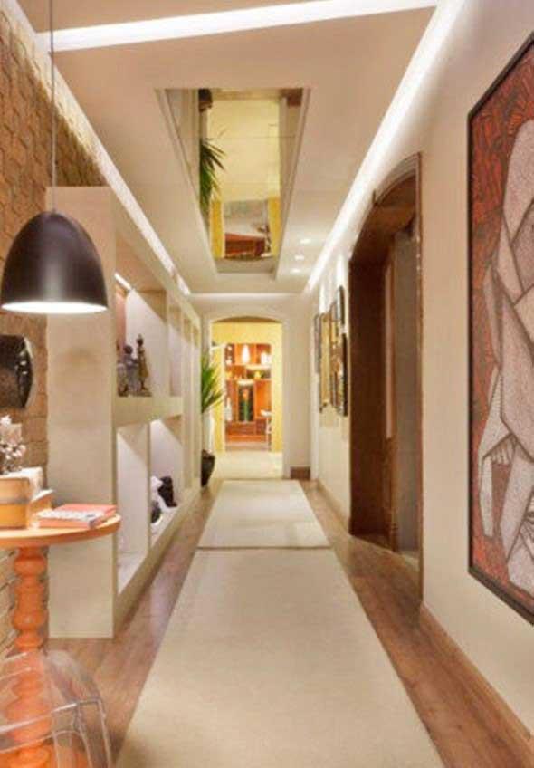 Ideias de decoração para corredores 007