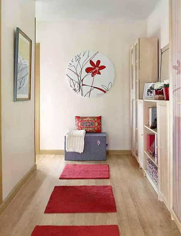 Ideias de decoração para corredores 012