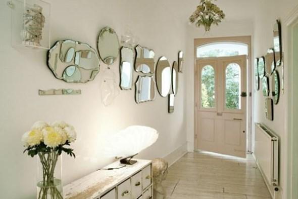 Ideias de decoração para corredores 020