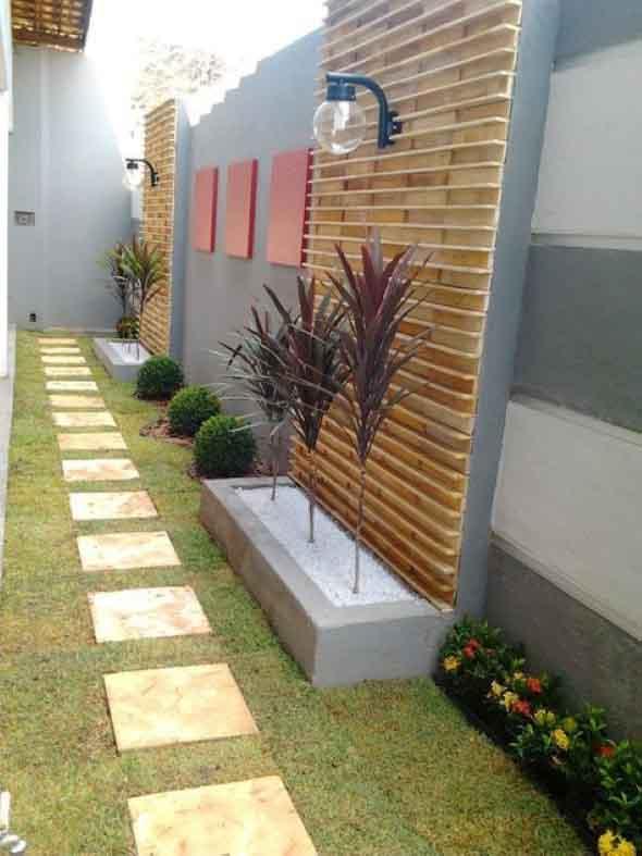 Jardins residenciais pequenos e charmosos 001