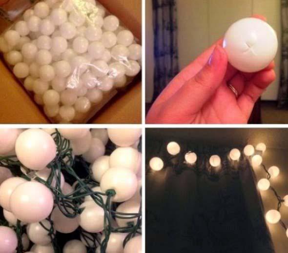 Luzes de Natal na decoração o ano inteiro 003