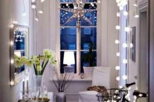 Luzes de Natal na decoração o ano inteiro 004