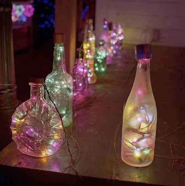 Luzes de Natal na decoração o ano inteiro 006