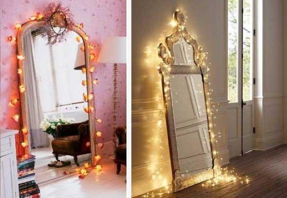 Luzes de Natal na decoração o ano inteiro 011