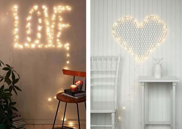Luzes de Natal na decoração o ano inteiro 012