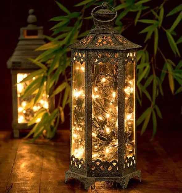 Luzes de Natal na decoração o ano inteiro 013