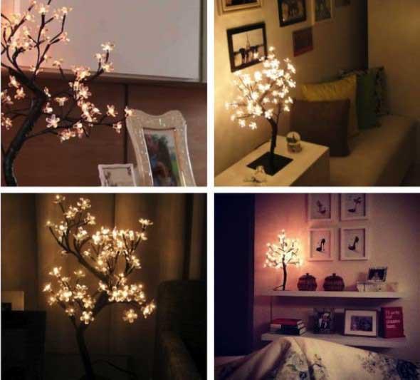 Luzes de Natal na decoração o ano inteiro 020