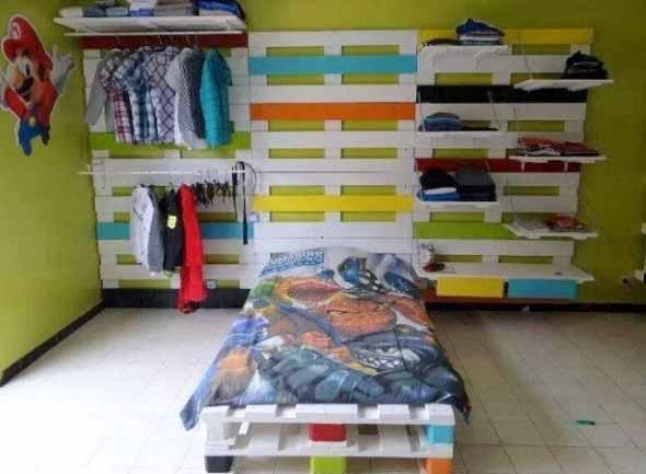 Projetos para crianças com paletes de madeira 004