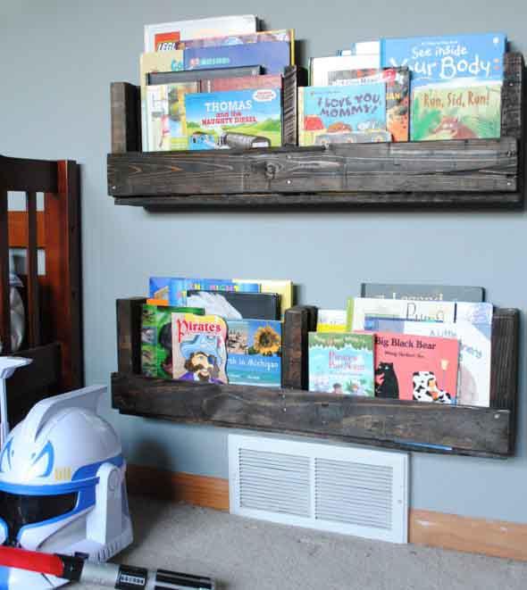 Projetos para crianças com paletes de madeira 006