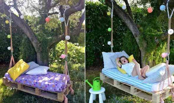 Projetos para crianças com paletes de madeira 012
