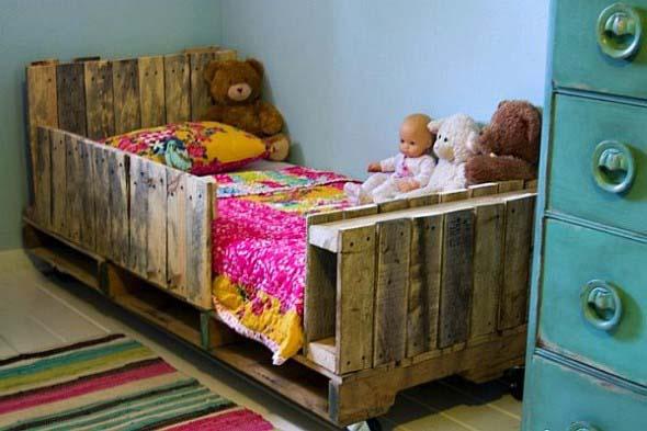 Projetos para crianças com paletes de madeira 014