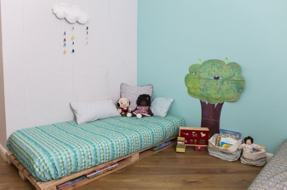 Projetos para crianças com paletes de madeira 016