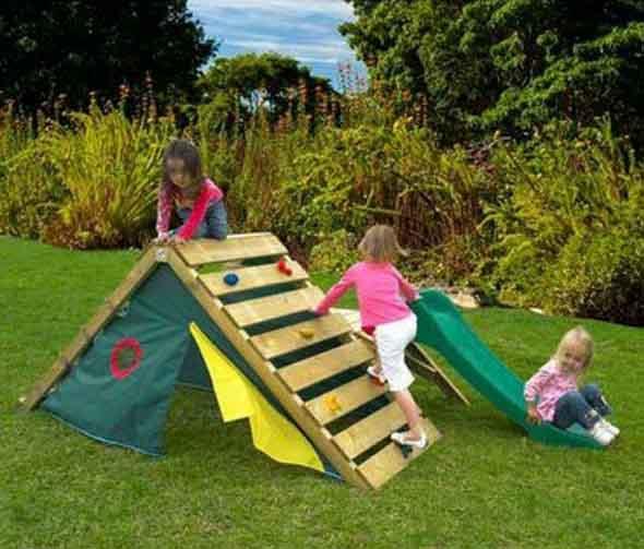 Projetos para crianças com paletes de madeira 018