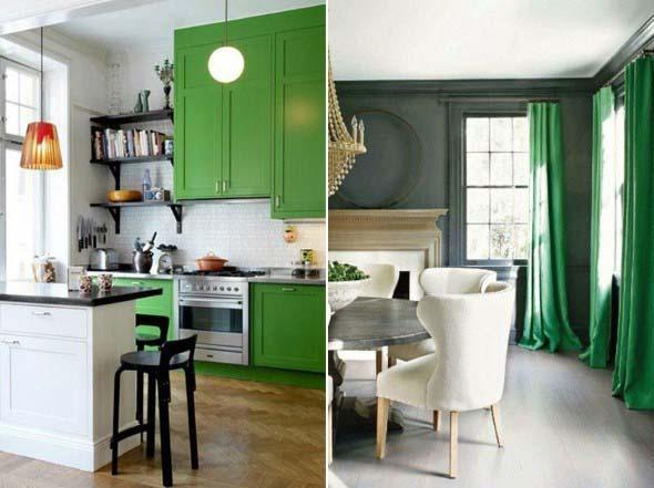 Verde na decoração 008