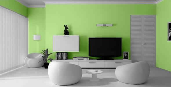 Verde na decoração 009