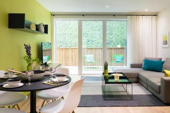 Verde na decoração 012