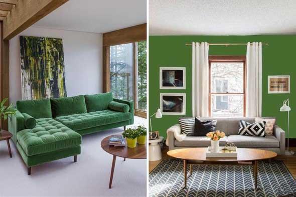 Verde na decoração 013