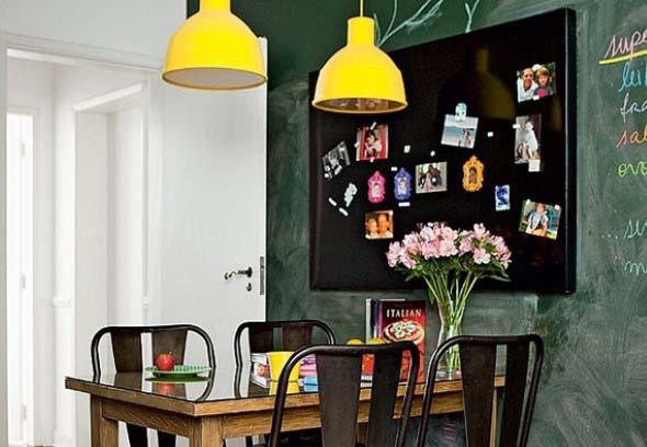 Decore as paredes com fotos de família 007