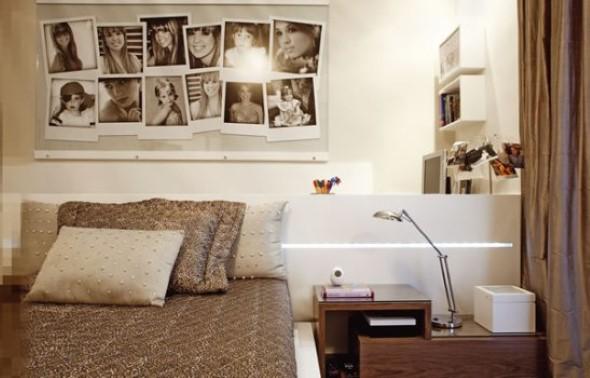 Decore as paredes com fotos de família 016
