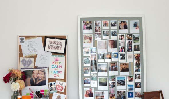 Decore as paredes com fotos de família 021