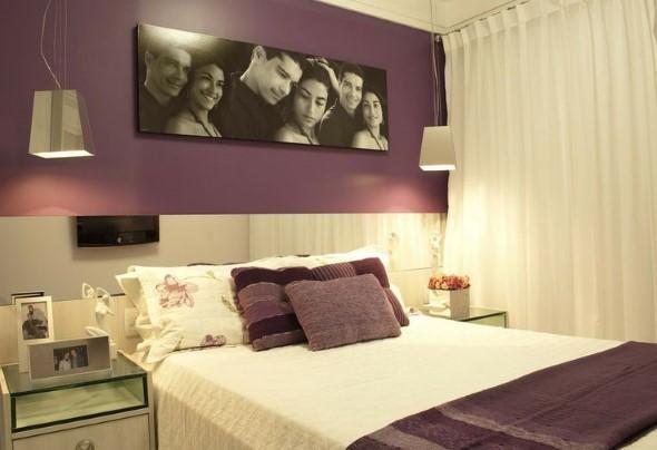 Decore as paredes com fotos de família 022
