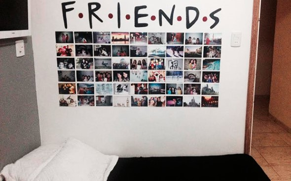 Decore as paredes com fotos de família 023