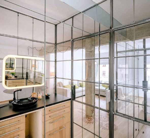 Divisórias de vidro na decoração 014