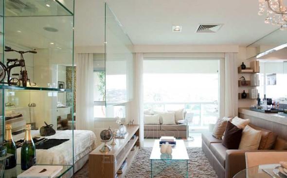 Divisórias de vidro na decoração 022