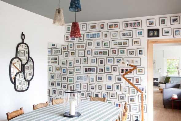 Ideias de decoração com paredes de molduras 010