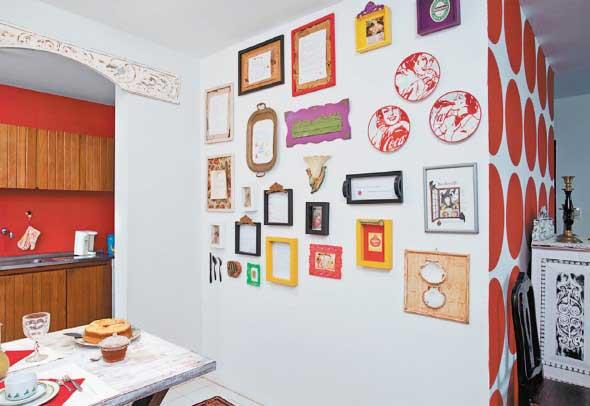 Ideias de decoração com paredes de molduras 015