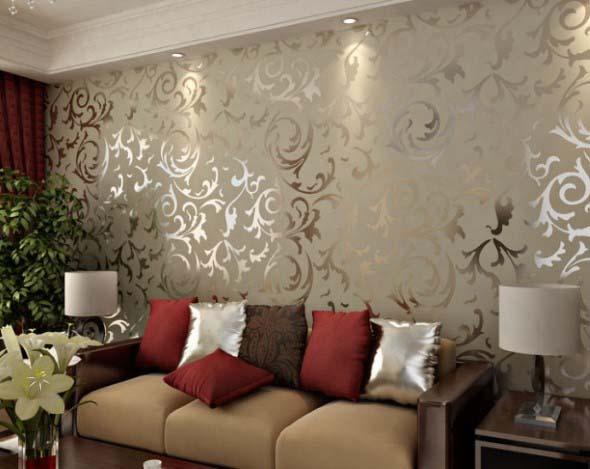 Painel adesivo na decoração 020