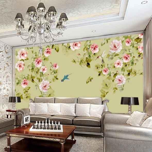 Painel adesivo na decoração 021