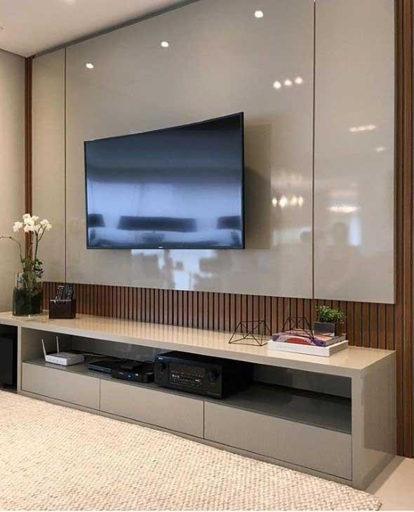 Painel de TV para sala de estar 002